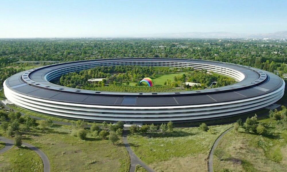 Apple Park octobre keynote 2021