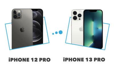 Comparatif iPhone 13 Pro vs iPhone 12 Pro