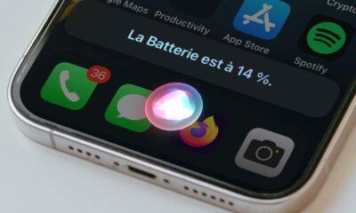 Siri batterie iPhone Face ID