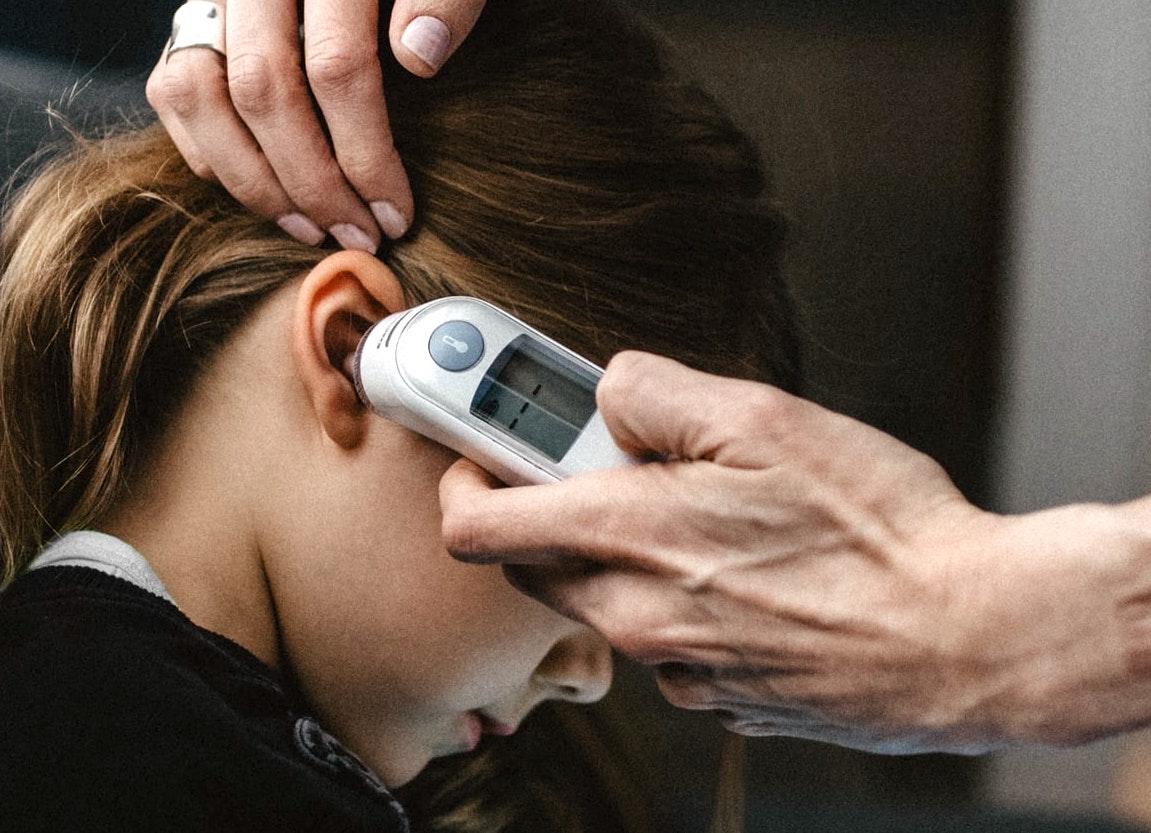 Température oreille thermomètre