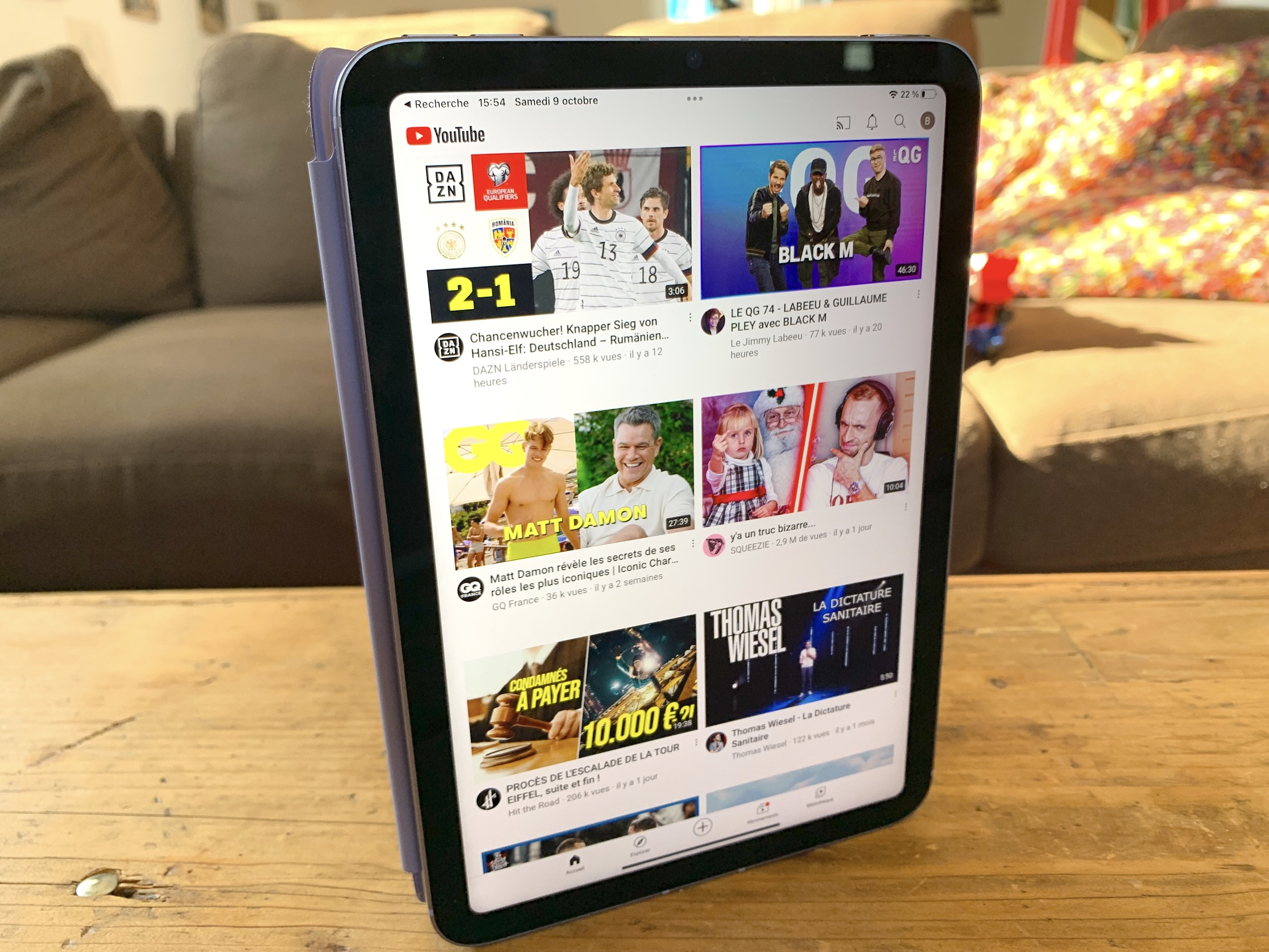 iPad mini 6 YouTube