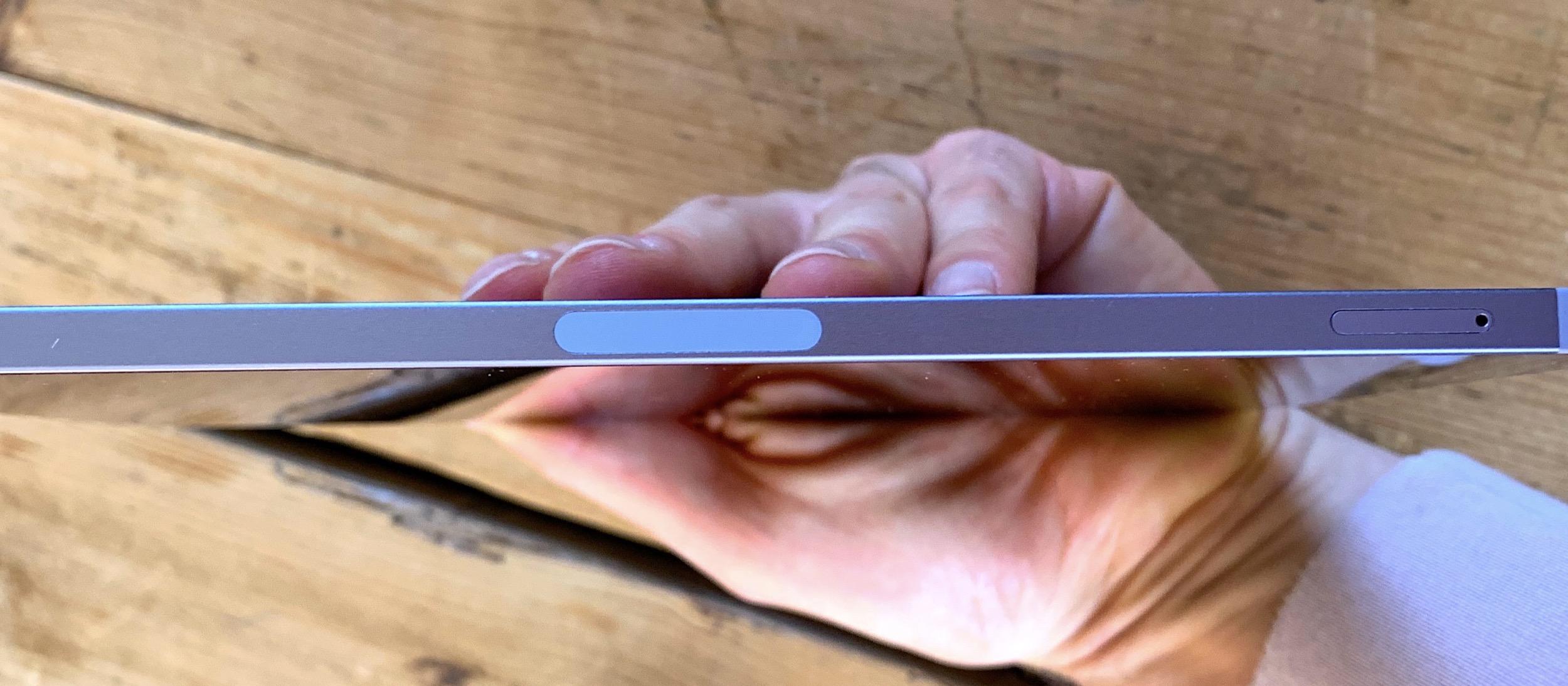 iPad mini 6 tranche aimant Pencil