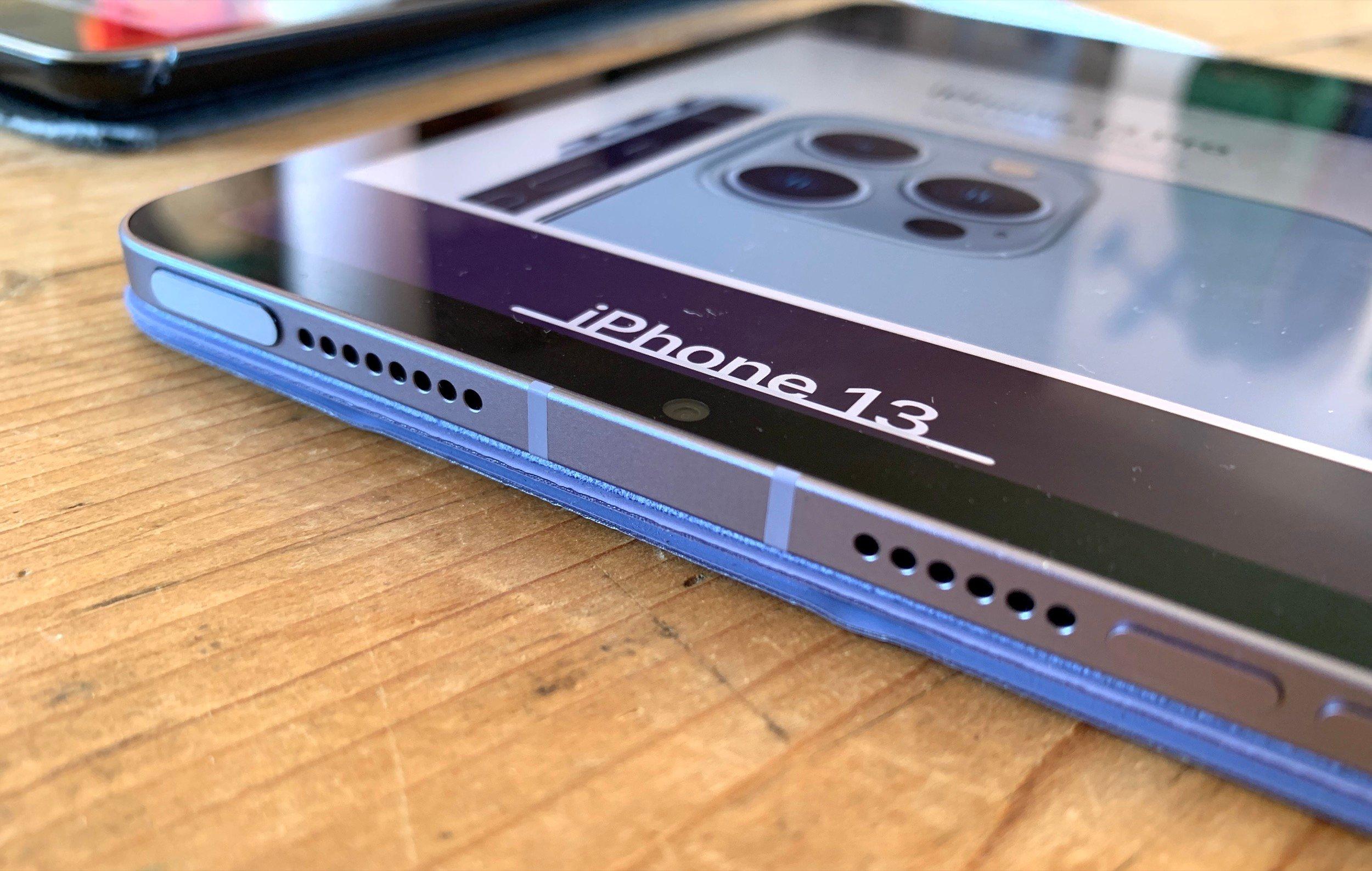 iPad mini 6 tranche dessus