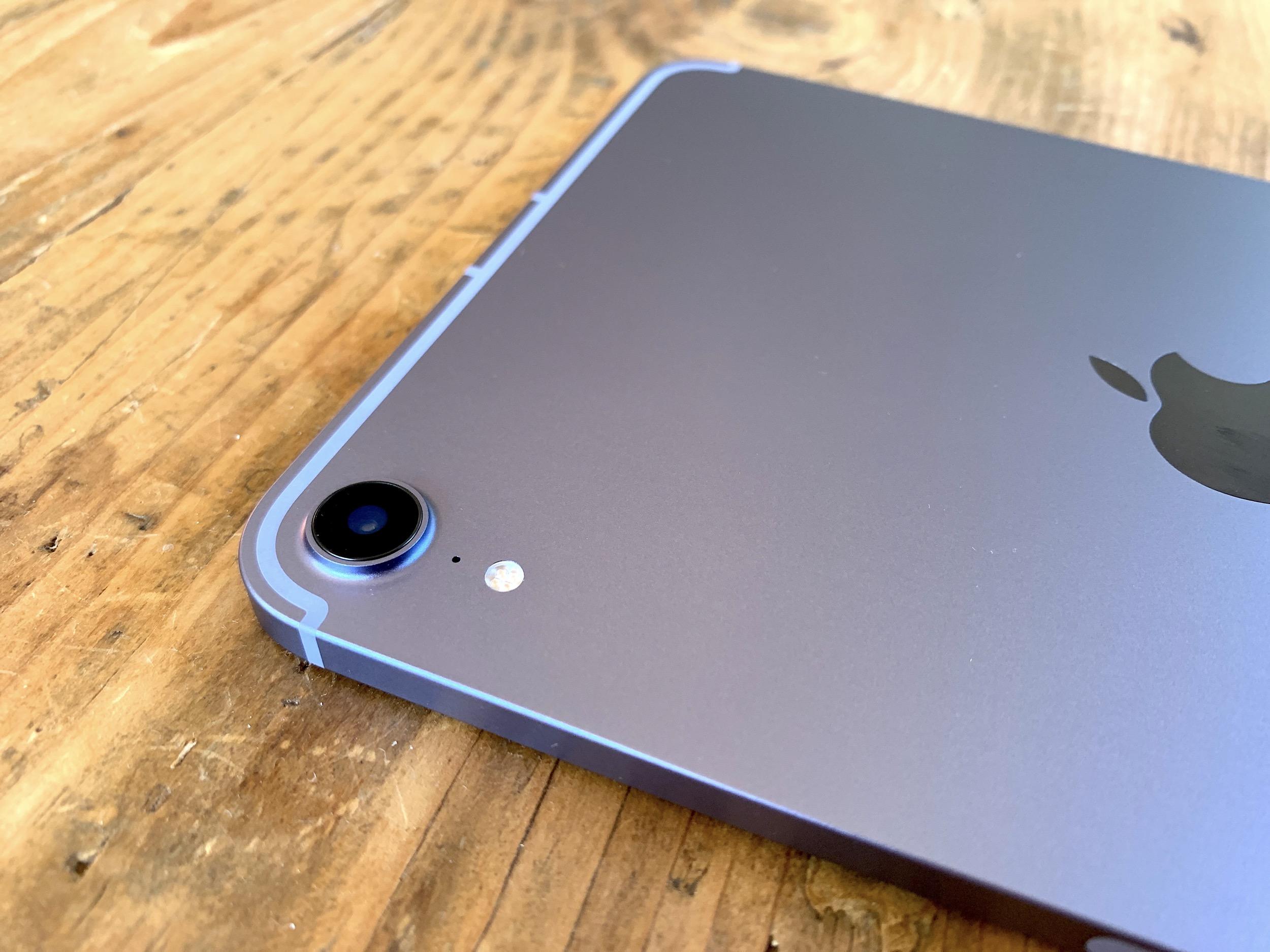 iPad mini 6 vue dos appareil photo