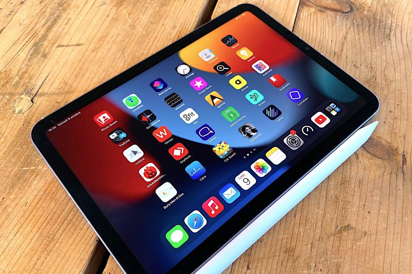 iPad mini 6 et Apple Pencil 2