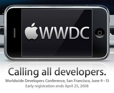 sortie iphone 3g 9 juin 2008 wwdc