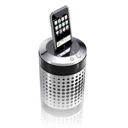 enceintes hifi design pour ipod touch par jm jarre. Black Bedroom Furniture Sets. Home Design Ideas