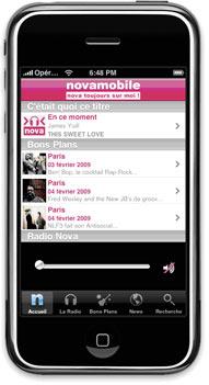 radio nova iphone