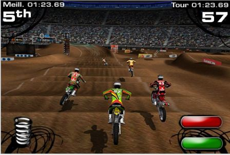jeu de motocross 2xl supercross disponible sur iphone ipod touch. Black Bedroom Furniture Sets. Home Design Ideas