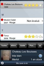 Un second logiciel de gestion de cave vin sur iphone ipod touch iphone x 8 ipad et apple - Gestion cave a vin android ...