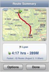 .TomTom GPS iPhone 3 s - TomTom disponible sur l'App Store français