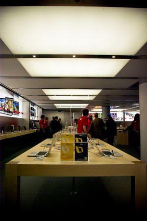 apple store paris louvre ouverture aujourd 39 hui la. Black Bedroom Furniture Sets. Home Design Ideas