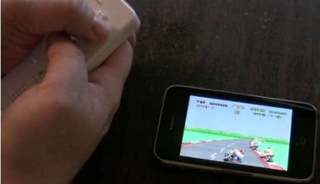 .wiimote iphone gamepad m Jeux   Utiliser la WiiMote sur liPhone ça donne ....