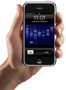 le fond d 39 cran pour iphone le plus cher du monde. Black Bedroom Furniture Sets. Home Design Ideas