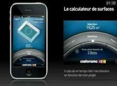 application castorama pour iphone et ipod touch venir video. Black Bedroom Furniture Sets. Home Design Ideas