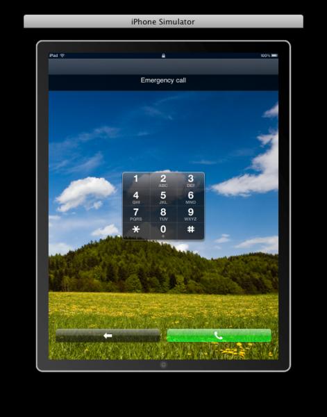 L 39 ipad 3g permettra t il les appels d 39 urgence iphone for Application ipad construction maison