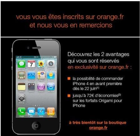 arnaque orange iphone