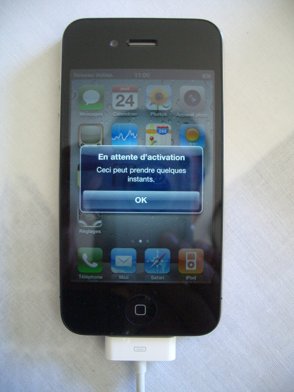 Eteindre Iphone X