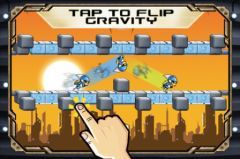 free iPhone app Gravity Guy