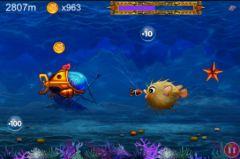 free iPhone app ePig Dive Treasure Hunter