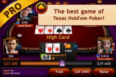 free iPhone app Texas Hold