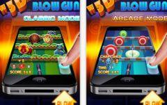 free iPhone app 3D Blowgun