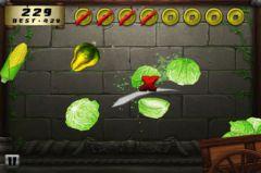 free iPhone app Veggie Samurai