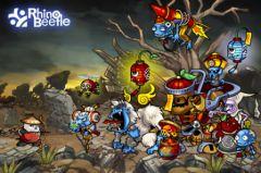 free iPhone app Panda Warrior HD: Zombie king