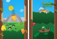 free iPhone app Ninjatown: Trees Of Doom