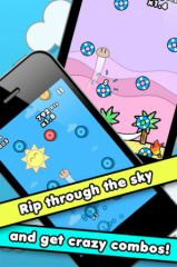 free iPhone app SkyBound - Touch The Sky