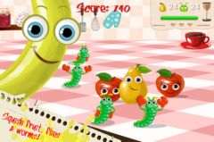 free iPhone app Squishy Fruit