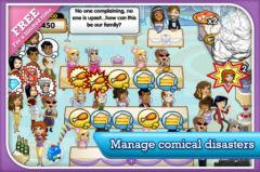 free iPhone app Wedding Dash