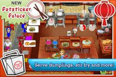free iPhone app Cooking Dash
