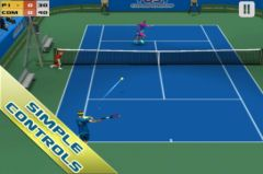 free iPhone app Cross Court Tennis