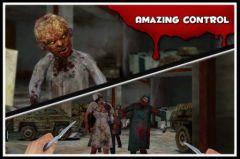free iPhone app Zombie Crisis 3D:PROLOGUE