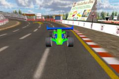 free iPhone app Circuit Racer 3D Top Racing Game