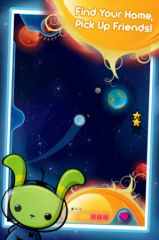 free iPhone app Space Bunnies