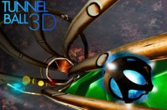 free iPhone app Tunnel Ball 3D