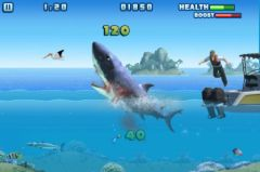 free iPhone app Hungry Shark - Part 1
