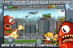 free iPhone app Destructopus: Total Rampage