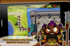 free iPhone app Three Kingdoms TD - Legend of Shu