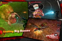 free iPhone app Zombie Crisis 3D 2: HUNTER