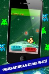 free iPhone app 8-bit vs 16-bit