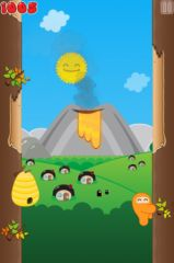 free iPhone app Ninjatown: Trees Of Doom!