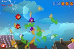 free iPhone app Cut the Birds 3D