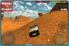 free iPhone app Crash drive 3D