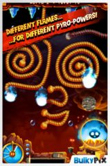 free iPhone app Burn it All - Journey to the Sun