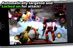 free iPhone app Battle 3D: Robots Sky