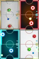 free iPhone app Glow Hockey 2