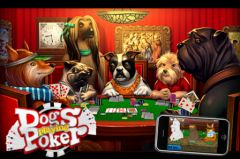 free iPhone app Dogs Playing Poker